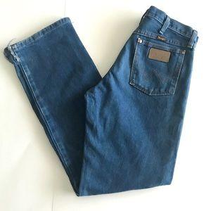 Vintage High Rise Wrangler Mom Jeans Sz 30 x 32
